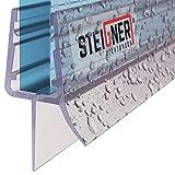 STEIGNER Joint de douche pour paroi en verre, 70cm, vitre 6/7/8mm, joint...