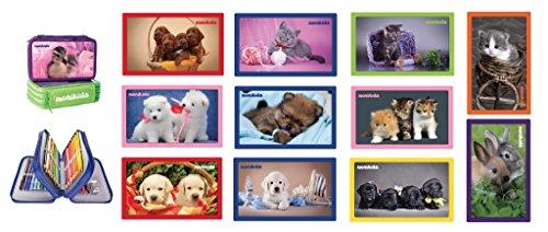 Astuccio 3 Cerniere 18+18 Tenerissimi Animali