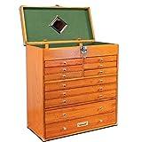 Gerstner International GI-T22 Red Oak 11-Drawer Tool Chest