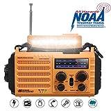 Radio Solaire, Radio Portable à Manivelle, Radio...