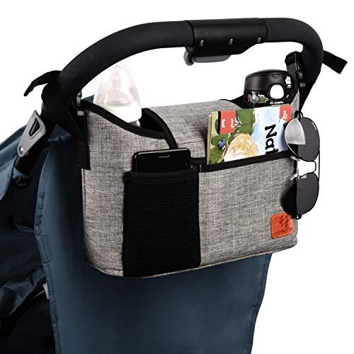 Homlynn Stroller Organizer – Fashionable & Spacious
