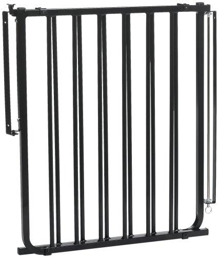 Cardinal Pet Gates Stairway Special Pet Gate, Black, SS-30