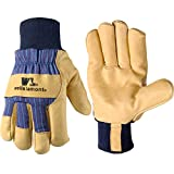 Men's Heavy Duty Leather Winter Work Gloves with Thinsulate Insulation (Wells Lamont 5127XL)