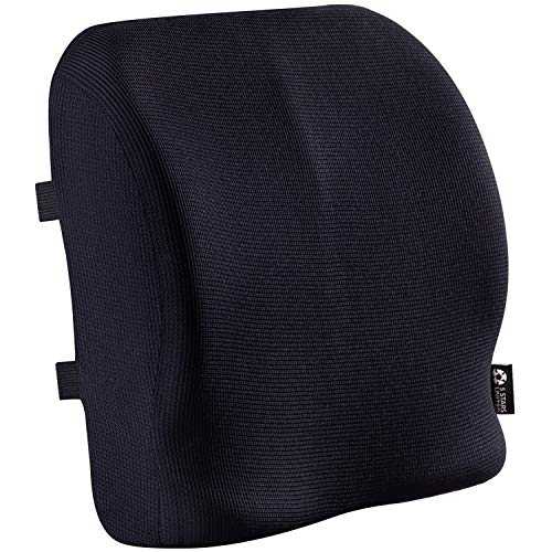 Product Image 1: Back Support for Office Chair - Memory Foam Lumbar Pillow - Perfect Cushion for Car, Computer and Desk Seat