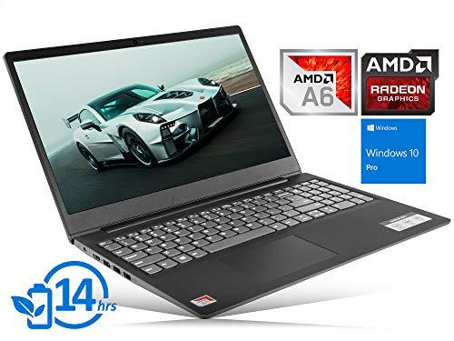 "Lenovo IdeaPad S145 Laptop, 15.6"" HD Display, AMD A6-9225 Upto 3.0GHz, 16GB RAM, 256GB SSD, HDMI, Card Reader, Wi-Fi, Bluetooth, Windows 10 Pro"