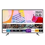 Samsung - Televisor inteligente Samsung 2020, 55 pulgadas, Q60T, QLED, 4K, Quantum HDR, con sistema operativo Tizen
