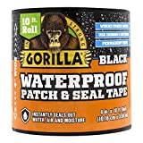 Gorilla Waterproof Patch & Seal Tape 4' x 10' Black, (Pack of 1)
