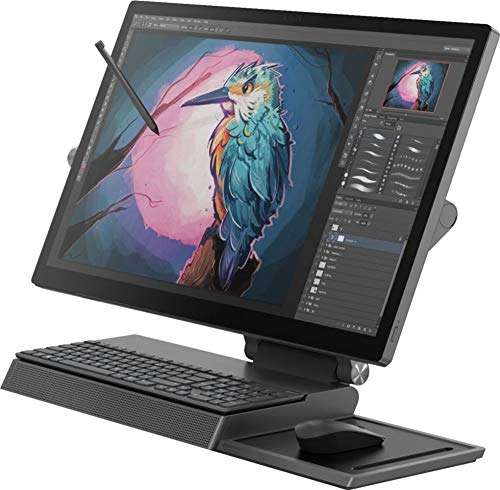 "Lenovo Yoga A940 27"" AIO 1TB SSD 32GB RAM (Intel Core i7-8700k - Turbo 4.70GHz, 32 GB RAM, 1 TB SSD, 27"" 4K Touch Display, Win 10) Desktop All in One PC Computer A940-27ICB"