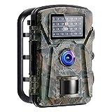 APEMAN Trail Camera 16MP 1080P No-Glow Infrared Night Vision Hunting Camera for...