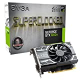 EVGA GeForce 04G-P4-6253-KR, GTX 1050 Ti SC GAMING, 4GB GDDR5, DX12 OSD Support (PXOC) Graphics Card