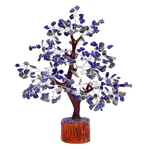 FASHIONZAADI Lapis Lazuli Gemstone Money Tree Natural Feng...