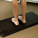 FLEXISPOT MT1B Tapis Anti-Fatigue pour Travail Debout Tapis Confort Anti-dérapant dans la Cuisine, Noir