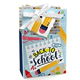 Big Dot of Happiness Back to School - First Day of School Classroom Decorations and Favor Boxes - Set of 12