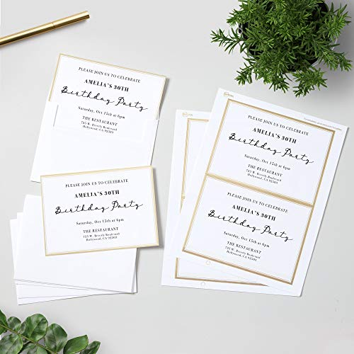 Avery Blank Greeting Cards with Envelopes 5