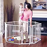 Toddleroo by North States 3 in 1 Metal Superyard: 198' long extra wide...