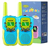 Kids Walkie Talkies for 3-12 Years Old Boys and Girls (Blue, 2 Pack)