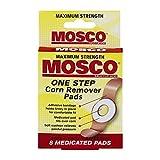 Mosco One Step Corn Remover Pads | Maximum Strength Salicylic Acid | 8 medicated pads