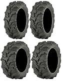 Full set of ITP Mud Lite XTR (6ply) 27x9-12 and 27x11-12 ATV Tires (4)