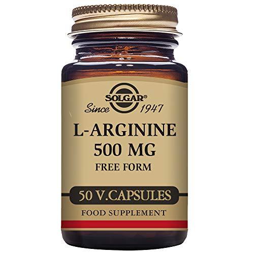Solgar L-Arginina Cápsulas vegetales de 500 mg - Envase de