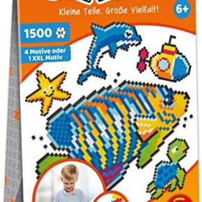 Schmidt Spiele- Jixelz-Puzzle Infantil (1500 Piezas, 5, diseño de Mundo Submarino (46117)