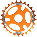 Big Roc 57CSS127O Sprocket 25T -Bmx-For 1/2' x1/8' Chain -Alloy- Orange