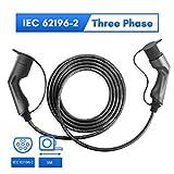Morec 32A 22KW VE Cable de Carga para Coches eléctricos Trifásico de Carga para...