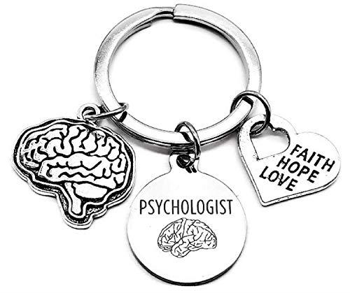 Psychologist Keychain, Child Psychologist Keychain,...