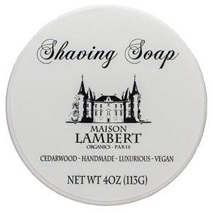 Maison Lambert Shaving Soap - Shaving Soap - Shave Soap - Organic Shaving Soap - with Argan Oil and...