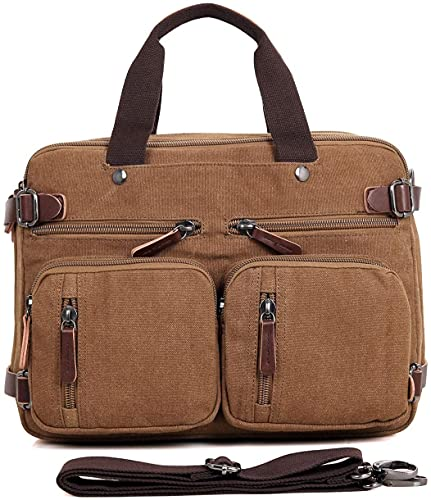 Briefcase for 15.6 Inch Laptop convertible...