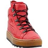 PUMA Mens The Ren Waterproof Outdoor Boots Red