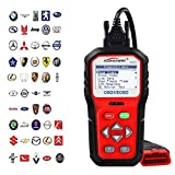 KONNWEI OBD2 Code Scanner Auto Code Reader Automotive Diagnostic Scan Tool Check Car Engine Light Fault Codes Readers OBDII OBD2 Diagnostics Scanners Work for All OBD II Protocol Cars Since 1996