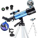 Aomekie Télescope Astronomique pour Enfant Adultes 70/400 Lunette...