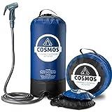 Cosmos Douche de camping/plein air portable Avec pompe à pied, sac de transport, liste de camping-car –...