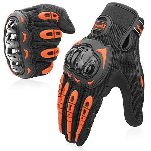COFIT Guanti da Moto, Touchscreen sulle Dita, Guanti per corse in Motocicletta, per guidare Quad...