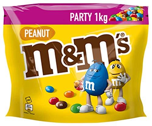 M&M'S   Peanut   Schokolinsen mit Erdnusskern   Eine Packung (1 x 1000 g)