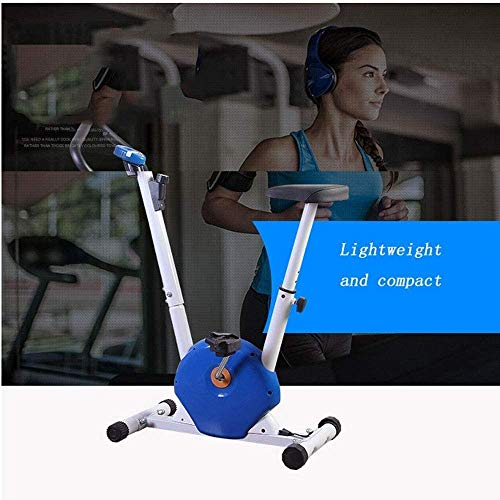 YFFSS Exercise Bikes, Foldable Exercise Bike, Home Ultra-Quiet Indoor Exercise Pedal Exercise Bike, Weight Loss Fitness Equipment with LCD Display 5
