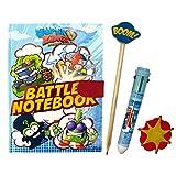 SuperZings Cuaderno de Batalla con Accesorio, Color Set, Talla Única (Cife Spain 41941)