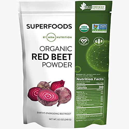 MRM Super Foods - Organic Red Beet Powder, 8.5...