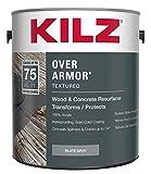 KILZ Over Armor Smooth Wood/Concrete Coating, 1 gallon, Slate Gray
