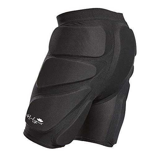 Bodyprox - Pantaloncini protettivi imbottiti per snowboard, skate e sci, protezione 3D per fianchi,...