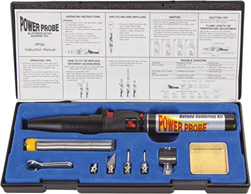 PPSK 500-BTU POWER PROBE Butane Soldering Kit