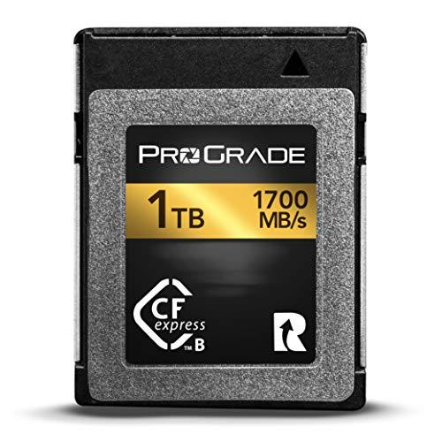 プログレードデジタルCFExpressタイプBメモリーカード(ゴールド) 1TB secure-digital-cards
