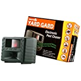 Bird-X Yard Gard Electronic Animal Repeller keeps unwanted pests out of your yard with ultrasonic sound-waves