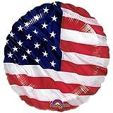 NET TOYS Ballon en Aluminium USA Ballons à gonfler Drapeau Amérique...