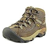 KEEN Women's Targhee 2 Mid Height Waterproof Hiking Boot, Slate Black/Flint Stone, 8.5 M (Medium) US