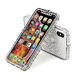 iPhoneケース キラキラ ラインストーン アイフォンケース ピンクゴールド シルバー おしゃれ ……