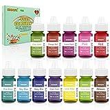 Colorante alimentario 12*6ml, Colorante Alimentario Alta...