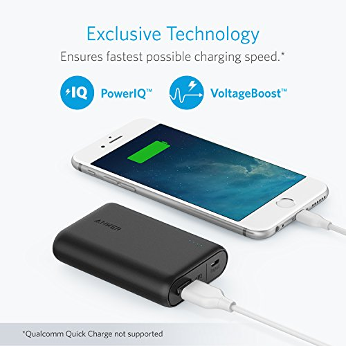 Product Image 1: Powerbank 10000mAh Anker PowerCore 10000, Caricatore Portatile Ultra Compatta, Power Bank Alta Capacità Per Huawei, Samsung, iPhone, Xiaomi e Altri