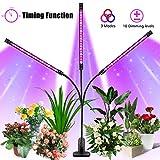 Lampe de Croissance, SOLMORE Lampe de Plante 3 Tube LED pour Croissance 54...