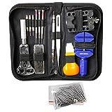 MMOBIEL Kit de Herramientas de reparación Profesional de relojería, Incluye pasadores de Resorte y...